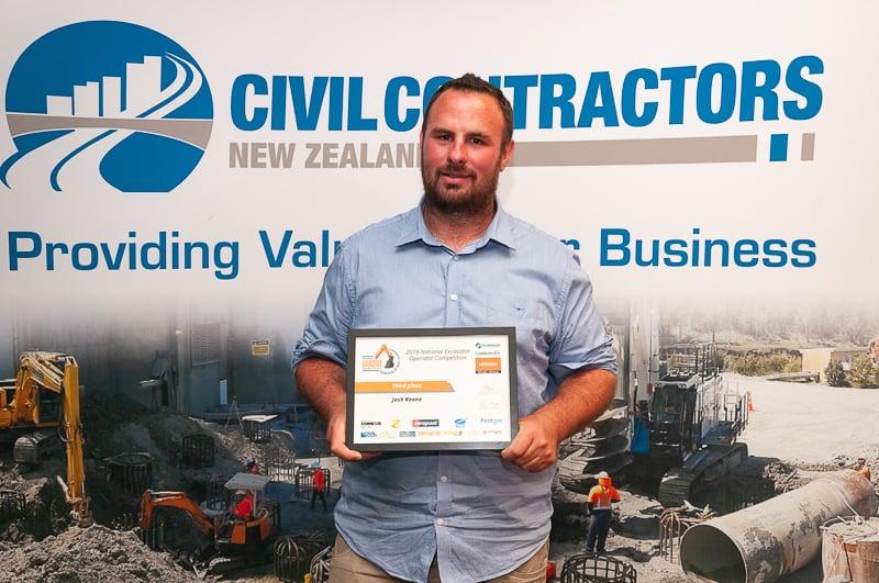 2019 National Excavator Operator Awards- Josh Keane 3rd Web