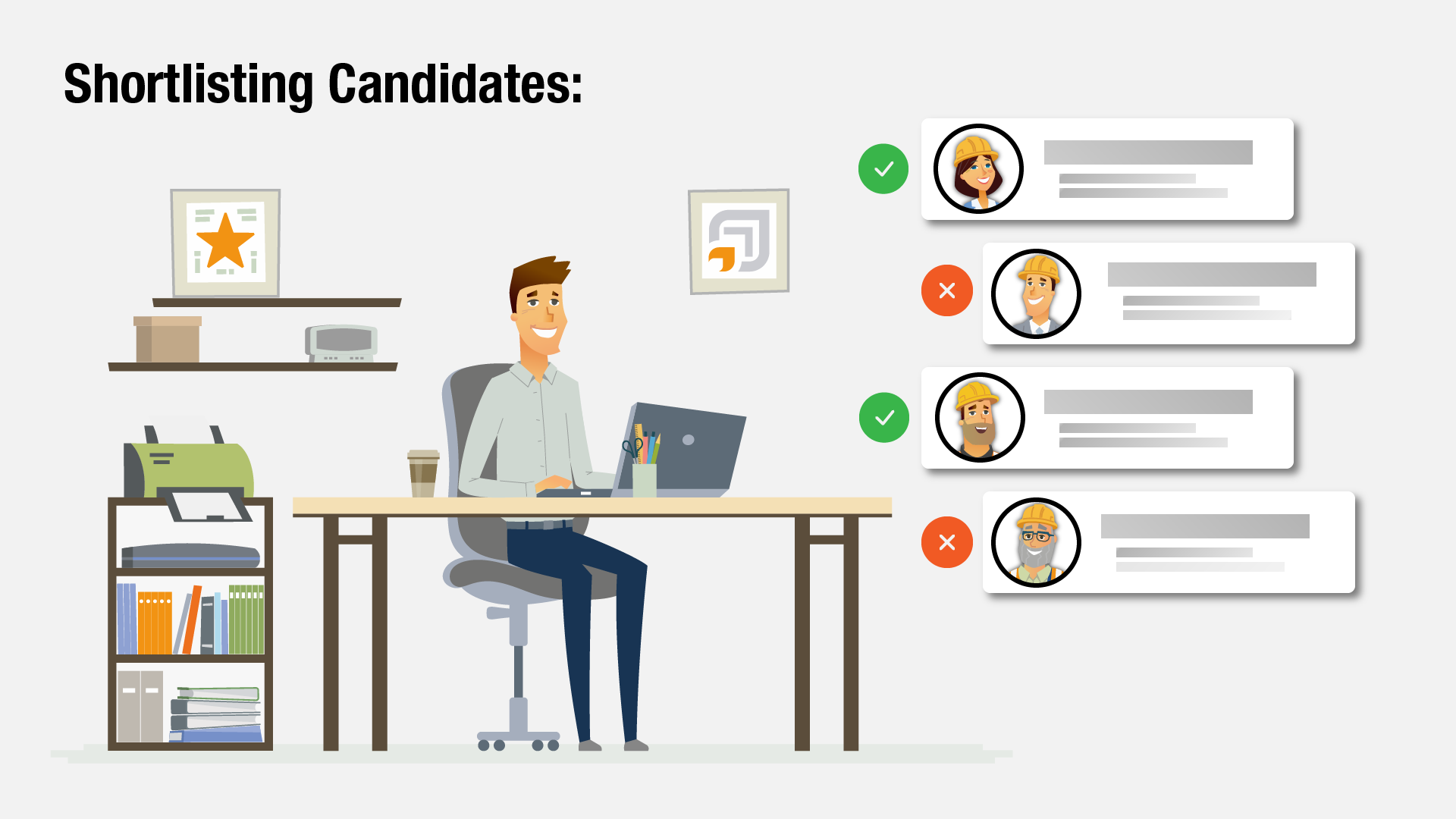 Shortlisting Candidates for hire